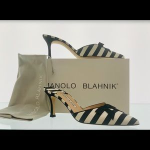 Manolo Blahnik Carolyn 70 size 39 NEW
